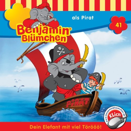 Benjamin als Pirat audiobook cover art