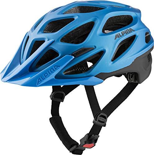 Alpina Unisex– Erwachsene Mythos 3.0 LE Fahrradhelm, True-Blue matt, 52-57 cm