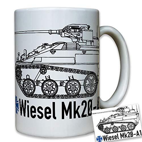Wiesel Mk20 A1 Bundeswehr Kettenfahrzeug Waffenträger Bw - Tasse #7975