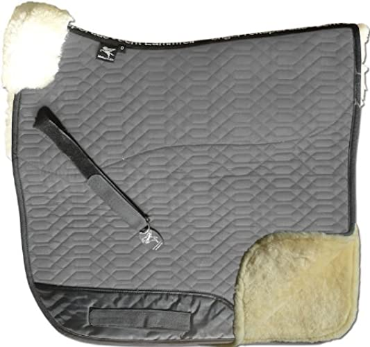 ENGEL GERhommeY Chabraque DE LUXE en peau de mouton couleur coton gris (Schabra 2) Combinez-vous avec 12 coleur de peau de mouton