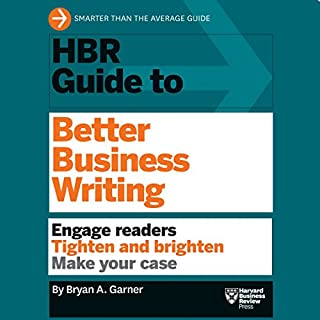 HBR Guide to Better Business Writing cover art