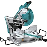 Makita XSL04ZU 18V x2 LXT Lithium-Ion (36V) Brushless Cordless 10' Dual-Bevel Sliding Compound Miter Saw with Aws & Laser, TOOL Only