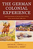German Colonial Experience.