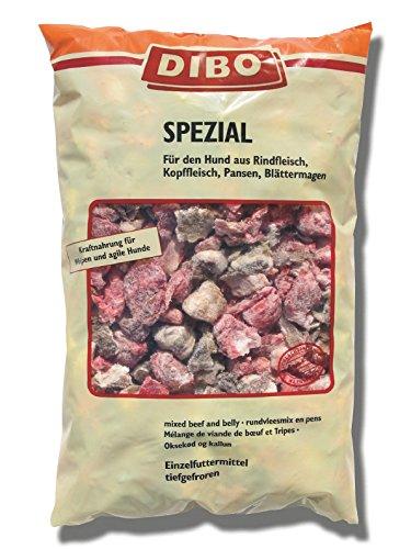 DIBO Spezial, 3 x 2.000g-Beutel, Tiefkühlfutter, gesunde, natürliche Ernährung für Hunde, Hundefutter, Barf, B.A.R.F.