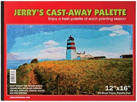 Jerry's Cast Away Paper Artist All items in the store Palette Co Pads Heavy Duty - Gorgeous 35lb