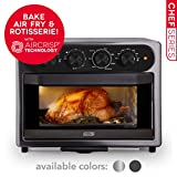 DASH DAFT2350GBGT01 Chef Series Air Fry Oven, 23L, Graphite