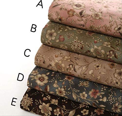 FHFF Tafelkleed Europese Stijl Retro Gedrukt Katoen Linnen voor Babykleding, Kimono, Schoenen, Grote Rok, Tafelkleden B