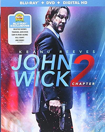 John Wick: Chapter 2 [Blu-ray]+DVD+ Digital HD