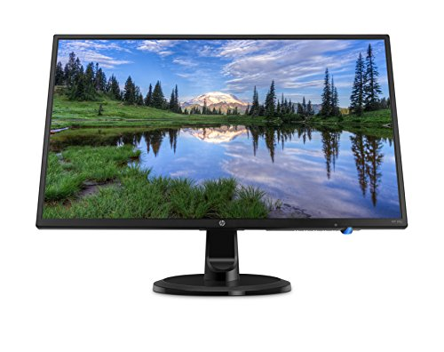 HP 24-Inch FHD IPS Monitor with Tilt Adjustment and Anti-glare Panel (24yh, Black) - 3AU73AA#ABA