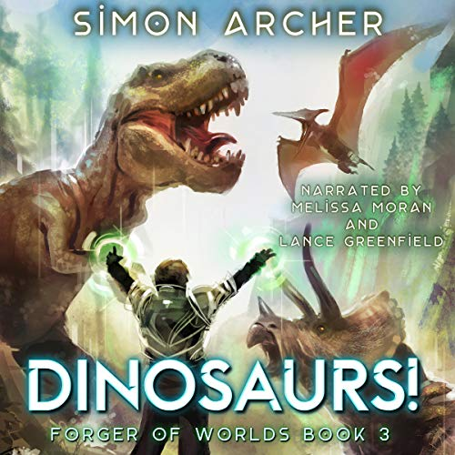 Dinosaurs! audiobook cover art