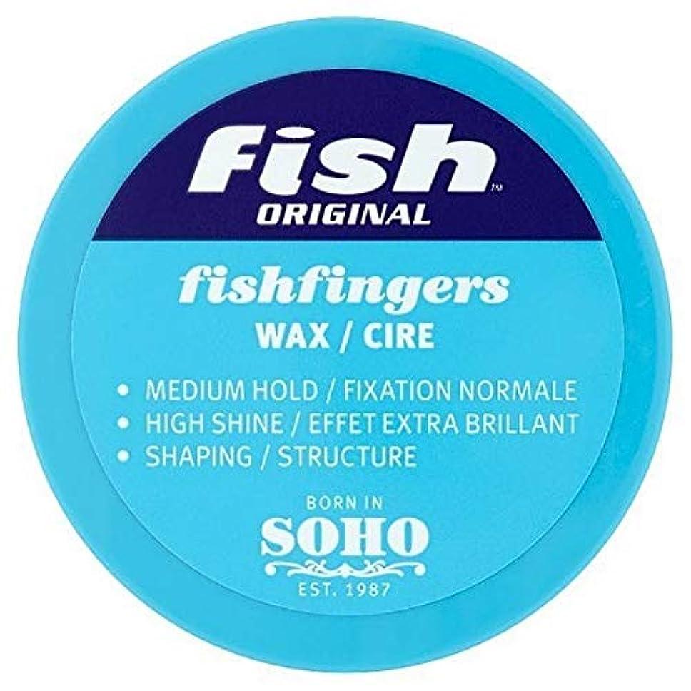 歴史的節約するストレージ[Fish Soho] ワックス100ミリリットルを定義する魚本来のFishfingers形状 - Fish Original Fishfingers Shape Defining Wax 100ml [並行輸入品]