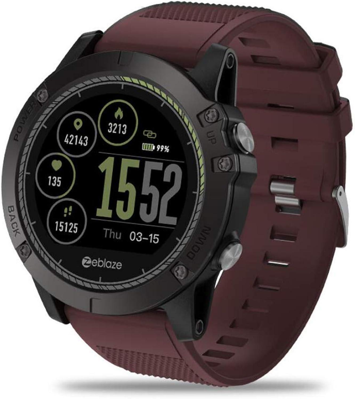 WYXIN Vibe 3 HR IPS Farbdisplay Sport Smartwatch mit Pulsmesser IP67 wasserdichte Fitness Tracker Mnner Für IOS & Android
