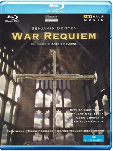 Benjamin Britten - War Requiem (Coventry Cathedral) [Alemania] [Blu-ray]