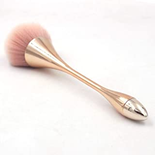 LiPing Rose Gold Powder Brush Premium Foundation Brush Tool Eyeliner Lip Cosmetic Brush Eyeshadow Brush (7.8in)