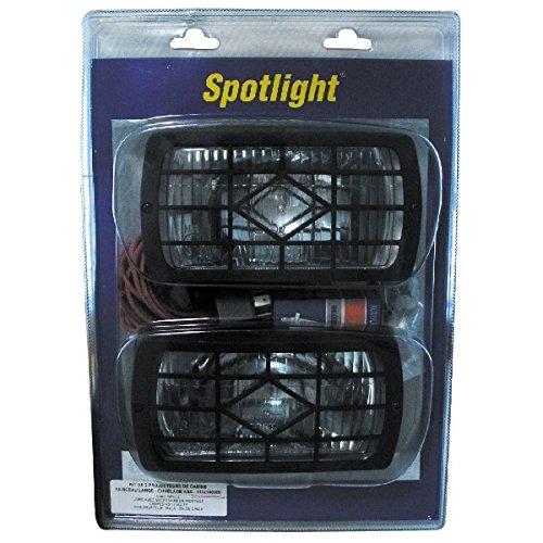 Spotlight Kit 2 Phares Longue Portee Complet/Blister