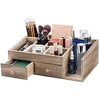 X-cosrack Rustic Wood Desk Cosmetic Office Drawer
