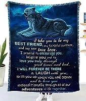フランネル毛布、オオカミ柄エアコン毛布、子供用ギフトスリーピング毛布、柔らかく快適な毛布,L,150*200CM