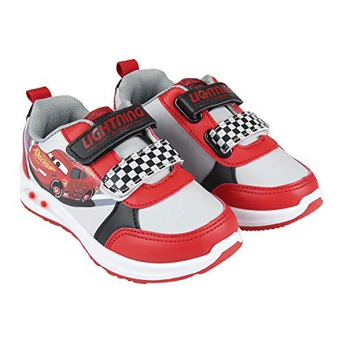 Zapatos Deportivos, Zapatillas Deportivas de Car con Luces para Niños (Numeric_28)