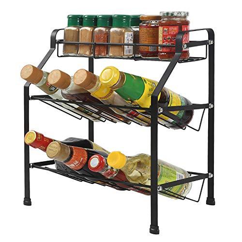 PURCOULEUR Spice Rack Organizer ...