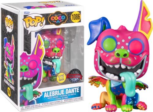 Funko Pop! Coco Edition Special 1086 Alebrije Dante Glow in The Dark