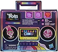 Trolls DreamWorks Tiny Dancers Friend Pack with 2 Tiny Dancers Figures, 2 Bracelets, and 10 Charms, Toy Inspired by The...
