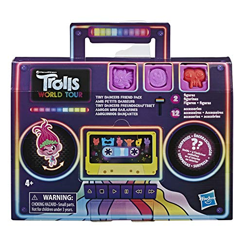 Trolls World Tour - Confezione di amici Tiny Dancers