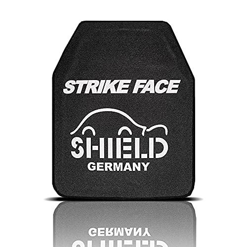 Shield - SK4 / NIJ IV Platte Schutzplatte, STA (Stand Alone) Einschubplatte für schusssichere Weste, Plattenträger und Plate Carrier - Für taktischen Einsatz oder Airsoft geeignet
