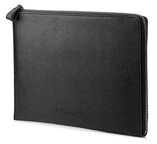 HP Spectre Sleeve (1PD69AA) Schutzhülle für Laptops, Tablets aus Leder (13,3 Zoll) schwarz