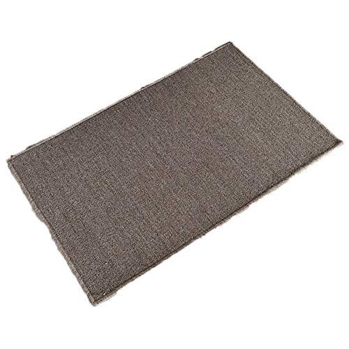 Teppich Eingang Fußmat Home Teppich Küche Fuß Pad Schlafzimmer Wohnzimmer Saal Teppichschloss Rand Wasseraufnahme Rennstütige Matten (Farbe : Beige 2, Größe : 50X90CM)
