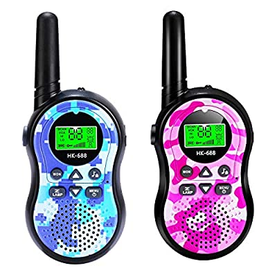 SeaMeng walkie talkies for Kids,22 Channel 2 Way Radio 3 Mile Long Range?Best Gifts for Boys Girls Age 3-12,Outdoor Adventures Camping Hiking