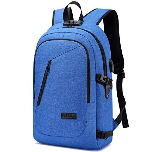 La mejor mochila antirrobo pequeña: WENIG Mochila Antirrobo