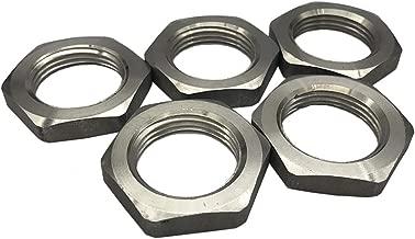 GNSN 2PCS Stainless Steel 304 Hex Locknut Lock Nuts, NPT Female (1/4
