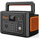 PROGENY 350W Generator Portable Power Station, 288Wh Lithium Battery with 110V AC Outlet, 4 DC 12V Ports, Type C/QC/Car Port/USB, Solar Generators for Camping CPAP Emergency Home Outdoor RV Van