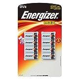 Energizer Max 9 V – 8 batterie per consumo portatile elettronico/gadget