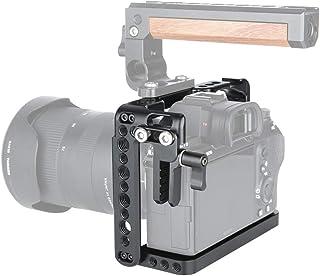 NICEYRIG A7III/A7R III/A7R II/A7S II/A7 II cámara Jaula con Cable HDMI Clamp Tipo Arri Rosette para Sony A7III/A7II/A7RII/A7SII/ A7RIII cámara