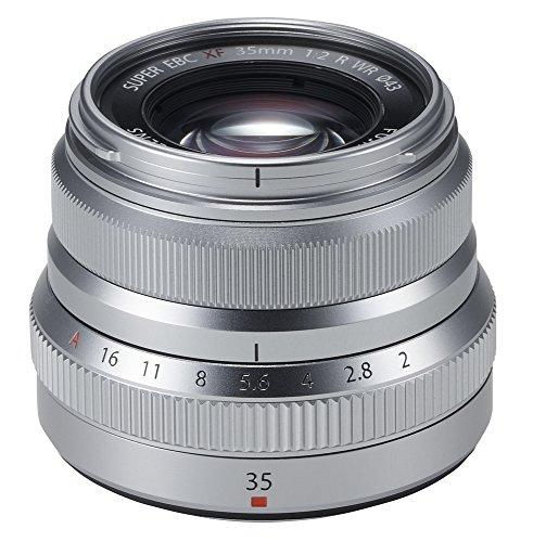 Fujifilm Fujinon XF35mmF2 R WR Silver - Lente, Color Plateado