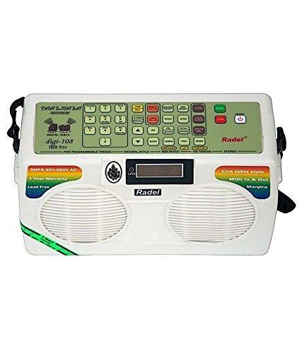 TAALMALA DIGI-108 Elektronischer TABLA RADEL MIT MANJIRA