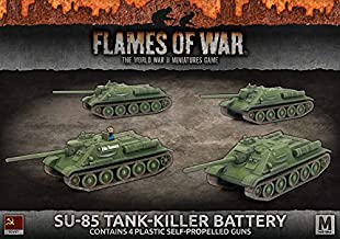 Flames of War: Mid War: Soviet: SU-85 Tank Killer Battery (SBX57)