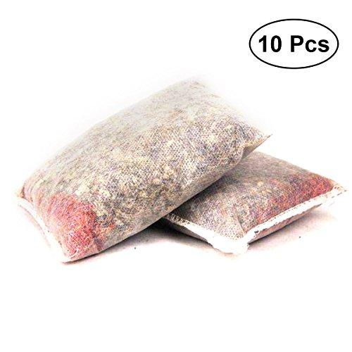 10PCS Chinois Medcine Bath Bag Original tout-naturel bain tremper pour aider avec des muscles endoloris Stress et un meilleur sommeil
