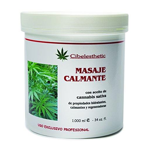 Crema Calmante con aceite de cannabis - 1000ml