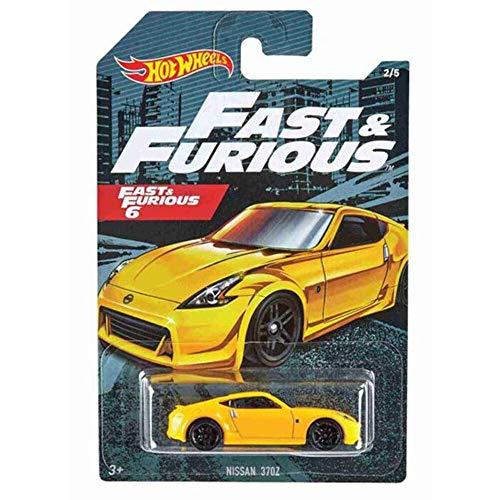 Hot Wheels 2020 Fast & Furious #2/5 Nissan 370Z (Yellow)
