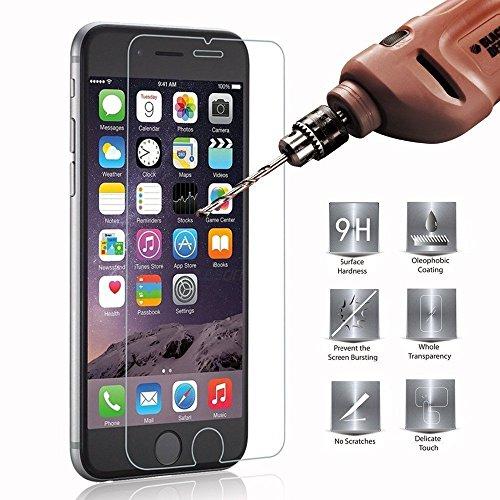 Gforce **Easy-Install Kit** [Extreme resistente a los arañazos] * Ultra Claro * Protector de pantalla de vidrio templado para iPhone 7 Plus, protección iPhone 7 Plus