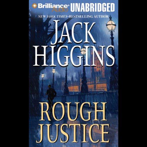 Rough Justice audiobook cover art