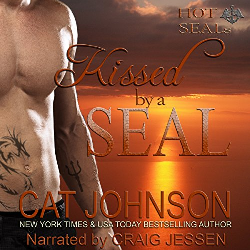 Kissed by a SEAL audiobook cover art