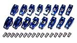Scorpion Racing 1038 1.6 SBC 3/8 Blue Race Series N/B Rocker Arms Set of 16