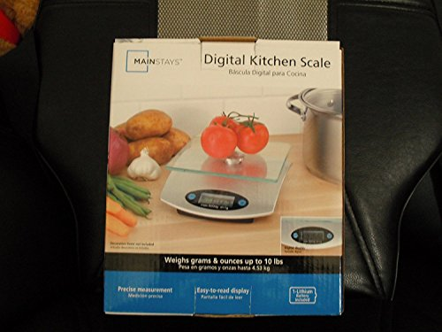 Mainstays Digital Kitchen Scale