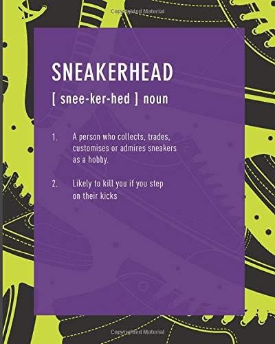 Sneakerhead: Weekly & Monthly Planner