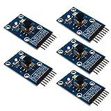 HALJIA Módulo de teclado independiente 5D con botón de navegación de cinco direcciones compatible con 5D Rocker Joystick MCU AVR Game Arduino Joystick Módulo de accesorios