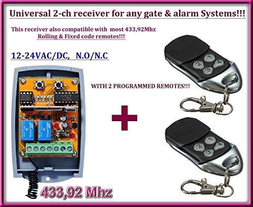 433,92 Mhz Fixed Code Handsender Fernbedienung kompatibel zu EST Alarmanlage