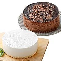 【工場直送】 冷凍4号ケーキ(12cm) 2個セット (レアチーズ ショコラムース) たべるン ホールケーキ 敬老の日